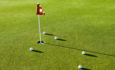 Playing The Miniature Golf - Golf Equipment